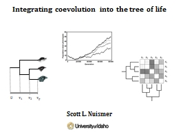 Integrating coevolution into the tree of life