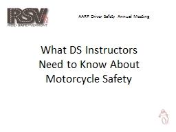 AARP Driver Safety Annual Meeting PowerPoint PPT Presentation