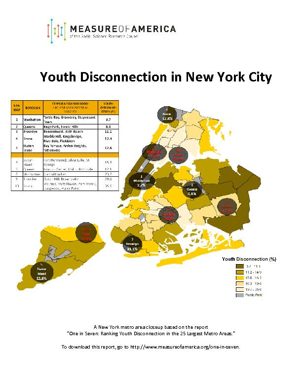 Youth Disconnection in New York CityA New York metro area closeup base PowerPoint PPT Presentation