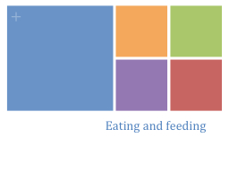 Eating and feeding PowerPoint PPT Presentation