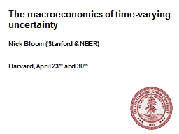 The macroeconomics of time-varying uncertainty