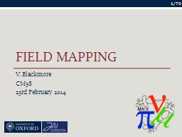 Field Mapping PowerPoint PPT Presentation