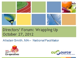 Directors' Forum: Wrapping Up PowerPoint PPT Presentation