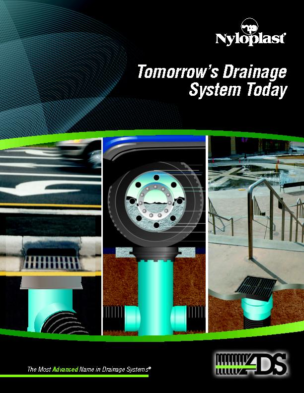 Advanced Drainage Systems, Inc.4640 Trueman Blvd. Hilliard, OH 430261-