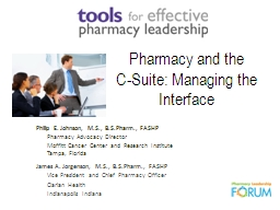 Pharmacy and the PowerPoint PPT Presentation