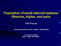 Population of small asteroid systems: