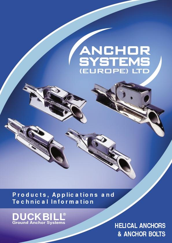 Technical Information& ANCHOR BOLTS UCK