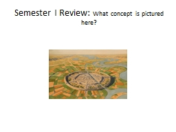 Semester I Review: PowerPoint PPT Presentation
