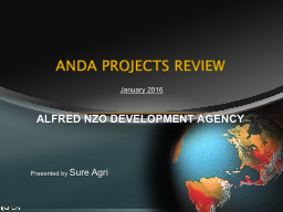 ANDA PROJECTS REVIEW