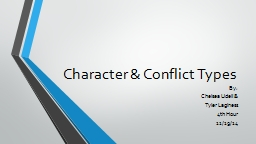 Character & Conflict Types