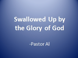 Swallowed Up by