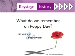 What do we remember