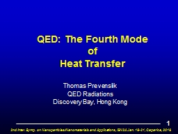 QED: The Fourth Mode