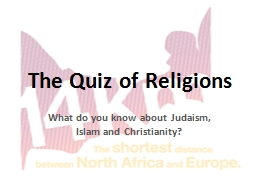 The Quiz of Religions PowerPoint PPT Presentation