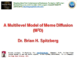 A Multilevel Model of Meme Diffusion