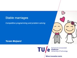 Stable marriages PowerPoint PPT Presentation