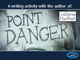 A writing activity with the author of: