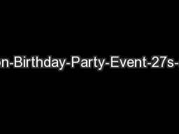 Mike-Hanson-Birthday-Party-Event-27s-and-video-2