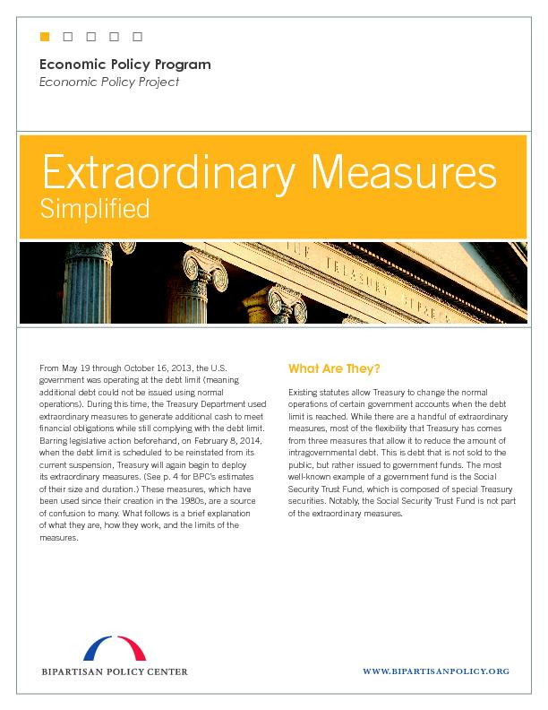 Extraordinary Measures PowerPoint PPT Presentation