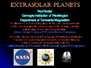 extrasolar planets essay Free essay: humans have longed to believe in extrasolar planets, as surely there have to be planets elsewhere in the universe claims of supposedly.