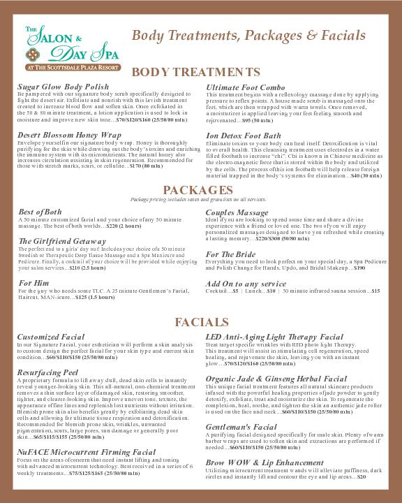 Body Treatments, Packages & FacialsBODY TREATMENTSSugar Glow Body Poli