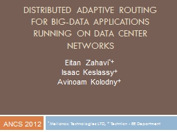 Distributed Adaptive Routing