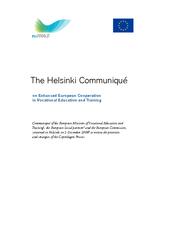 The Helsinki Communiqu on Enhanced European Cooperatio