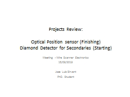 Projects Review:
