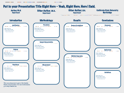 Put in your Presentation Title Right Here – Yeah, Right H
