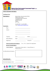HOME ASSESSMENT REFERRAL Visit Request Form Please Ret