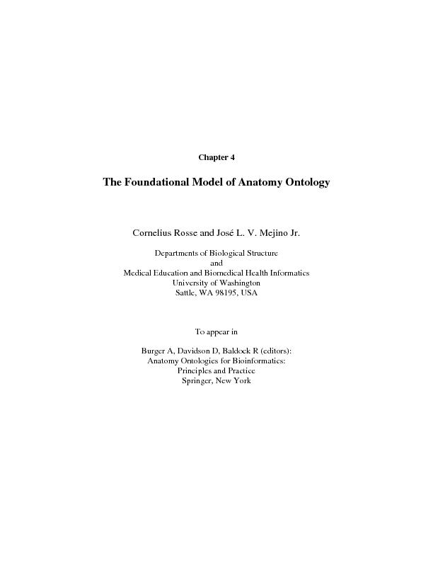 Departments of Biological Structure  Medical Education and Biomedical