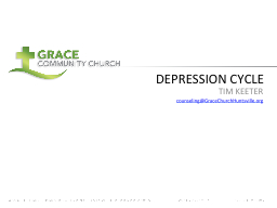 DEPRESSION CYCLE PowerPoint PPT Presentation
