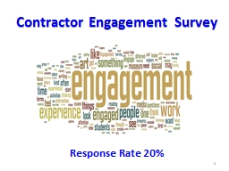 Contractor Engagement