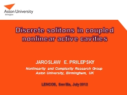 Discrete solitons in coupled