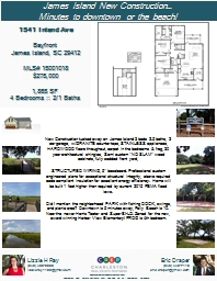 New Construction tucked away on James Island 3 beds 2.5 bat PowerPoint PPT Presentation