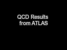 QCD Results from ATLAS