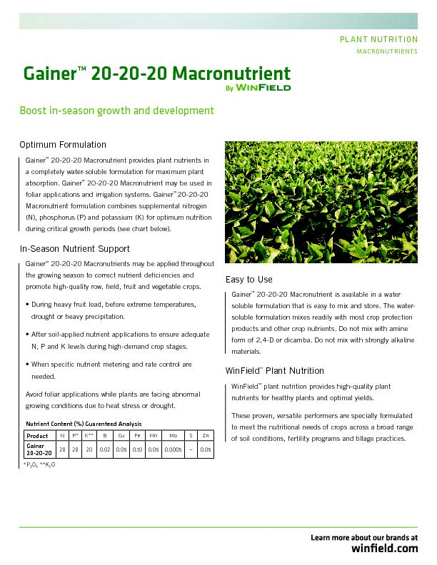 plant nutrition Module 2 plant nutrition and soil fertility 3 most producers generally apply only n, p, and k why is it important to learn about the other 11 mineral nutrients.