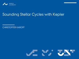 Sounding Stellar Cycles with