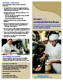 Maintenance and installation requirements for your grease interceptorM