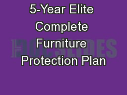 5 Year Elite Complete Furniture Protection Plan Pdf Document Docslides