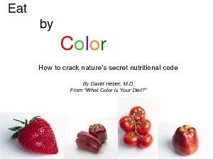 How to crack nature's secret nutritional code