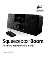 User Guide Logitech  Squeezebox Boom User Guide Conten