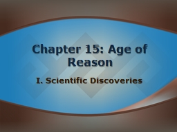 Chapter 15: Age of Reason