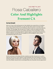 Color And Highlights Fremont CA