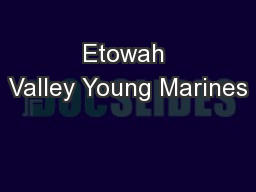 Etowah Valley Young Marines