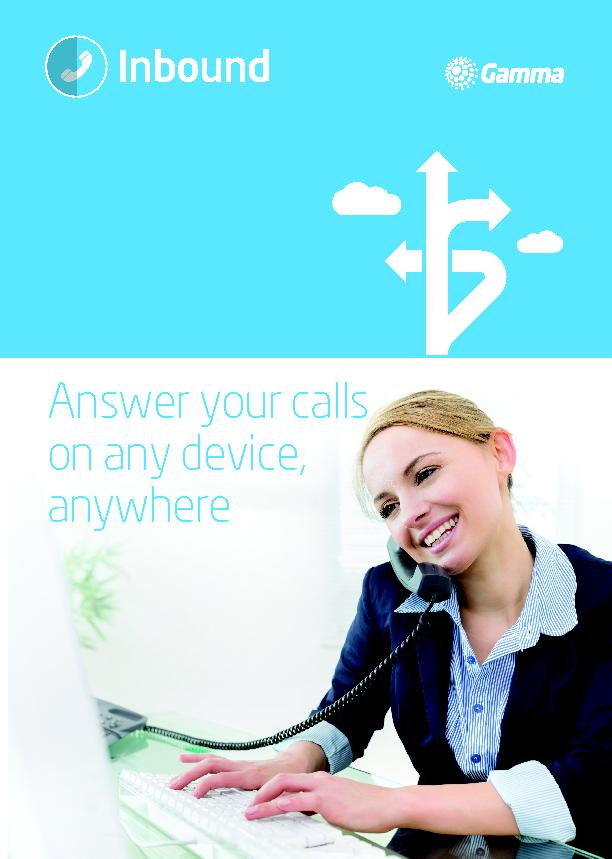 Answer your calls