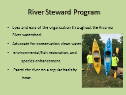 River Steward Program