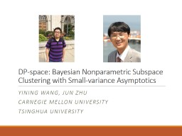 DP-space: Bayesian Nonparametric Subspace Clustering with S