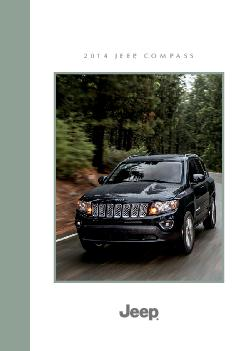 JEEP COMPASS RUGGED YET EFINED   J EE COMPASS Crafted for comfort and driven for its legendary BestinClass x capability