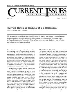 The Yield Curve as a Predictor of U